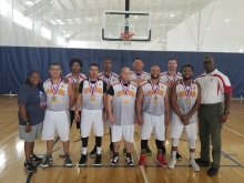 Basketball Men's Open Bronze Medal winners 2018
