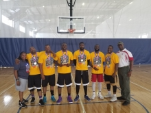Basketball Men's Open Gold Medal winners 2018