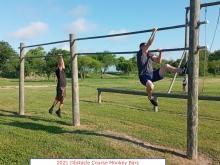 2021 Obstacle Course Monkey Bars Harlingen