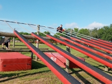 2021 Obstacle Course Pole Ramp Harlingen
