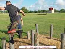 2021 Obstacle Course steeple walk Harlingen
